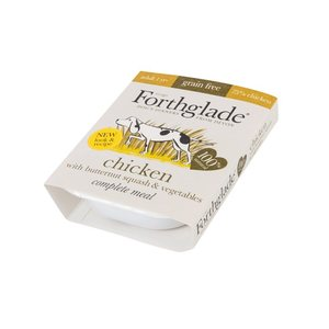 Forthglade Complete Meal Adult Chicken with Butternut SQ&Veg GF